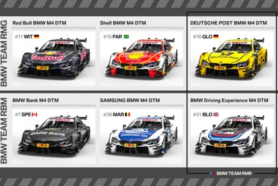 DTM – BMW Motorsport starting the new season with strong partners