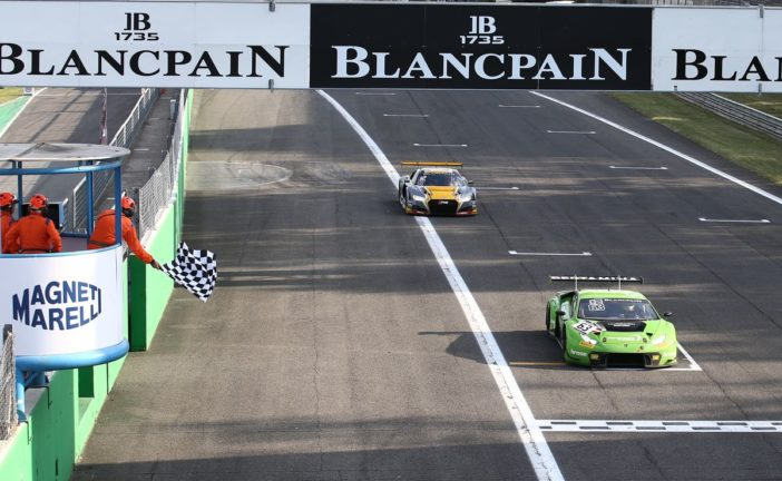Blancpain GT Series – GRT Racing Team brille à Monza, Spirit of Race et Kessel Racing sur le podium