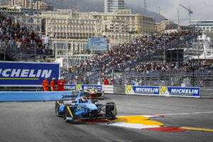 09 BUEMI Sebastien (che) Formula E team Renault E.DAMS action during the 2017 Formula E championship, at Monaco - Photo Francois Flamand / DPPI