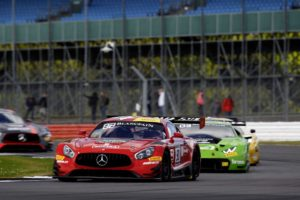 Customer Racing: Blancpain GT Series Endurance Cup: Doppelpodium für Mercedes-AMG Motorsport in Silverstone