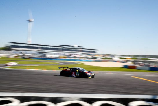 First points of the 2017 ADAC GT Masters for Patric Niederhauser at the Lausitzring