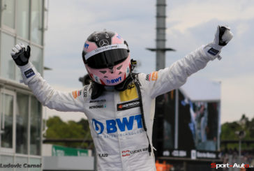 DTM – Edoardo Mortara au pied du podium, Lucas Auer remporte la première de 2017