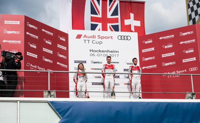 Audi Sport TT Cup – Doublé de Philip Ellis, Yannik Brandt débute par un podium