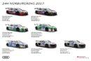 Pures Rennsport-Flair beim Rekordauftritt von Audi auf dem Nürburgring