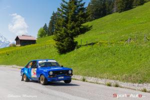 Rallye du Chablais pascal bachmann ford escort mk2 - sebastien montagny