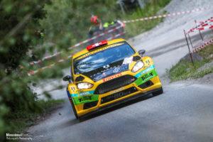 Rallye du Chablais sebastien carron ford fiesta r5 - Massimo Prati