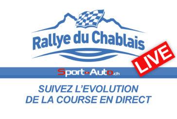 LIVE – Rallye du Chablais 2017 – Suivez l'évolution de la course en direct