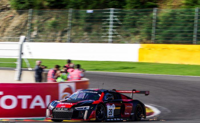Nico Müller au sein du Audi Sport Team WRT aux 24h de Spa