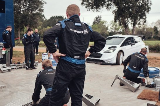 WRC – Kremer takes to the Ford GFiesta WRC