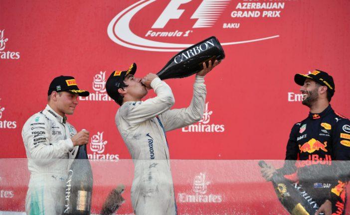 F1 – GP d'Azerbaïdjan: Ricciardo remporte une course incroyable et spectaculaire. Un point pour Sauber.