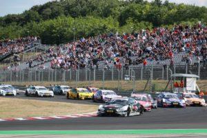 Motorsports: DTM race Budapest