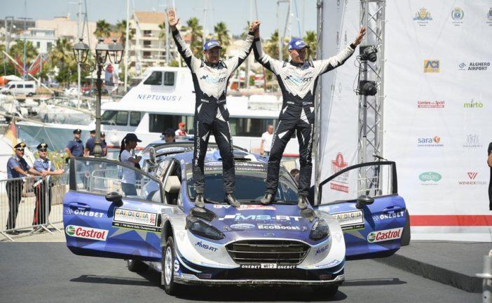 Première victoire en WRC pour Ott Tanak