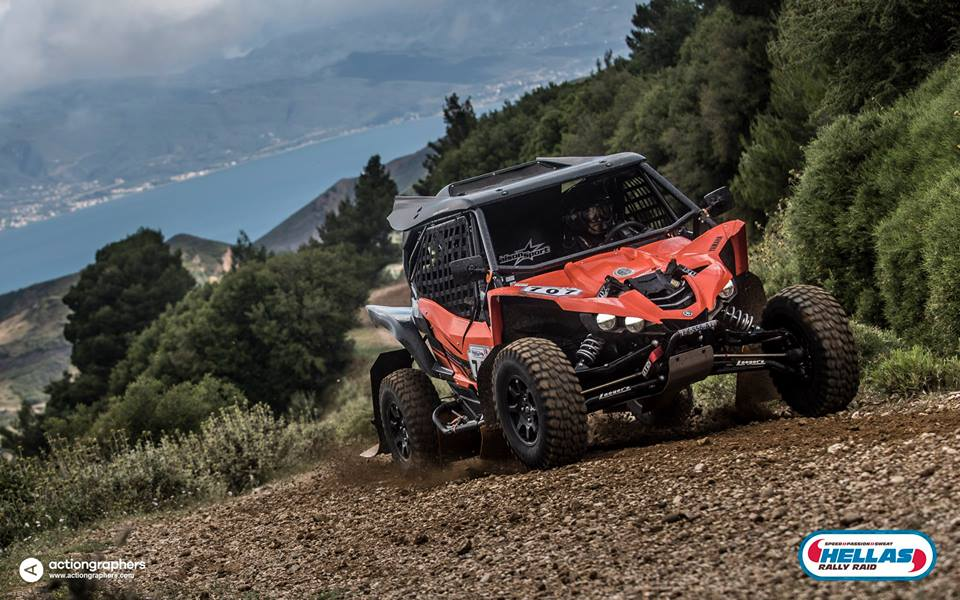 Hellas Rally Raid 2017 - Jerome Pellichet Eugenie Decre - Yamaha YXZ1000R
