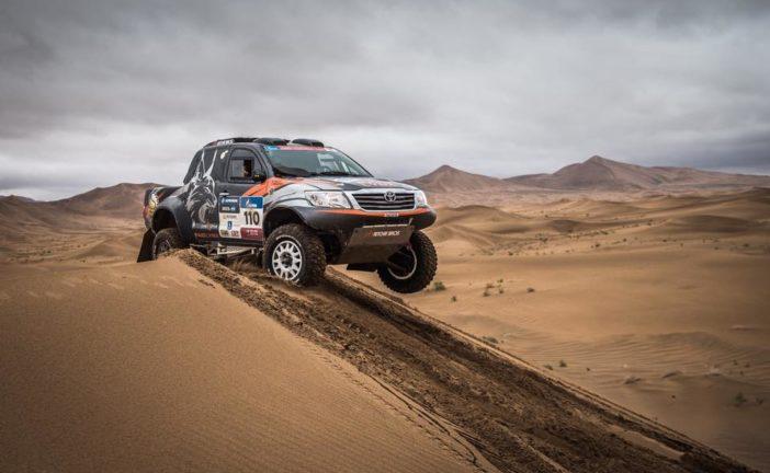 Silk Way Rally 2017 : Jérôme Pelichet – Eugénie Decré réitèrent !