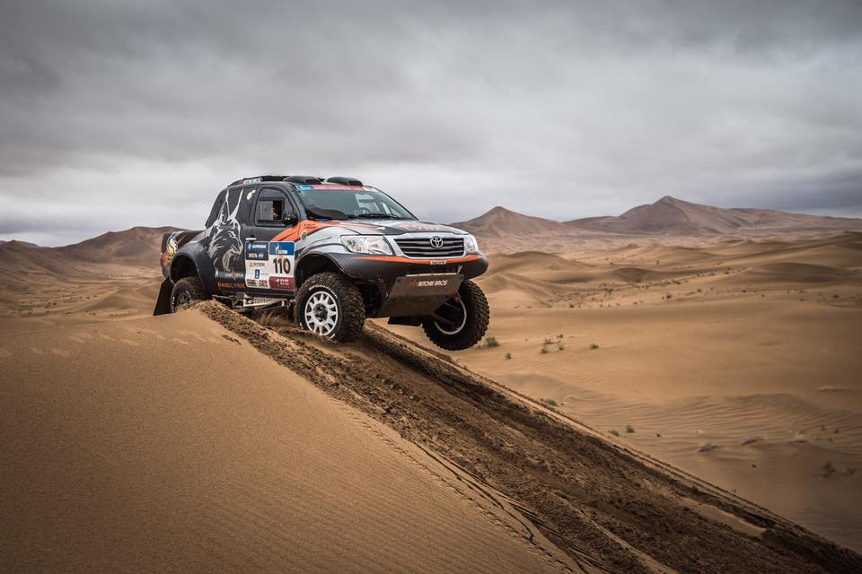 Silk Way Rally 2017 Pelichet Decre Raid Lynx Toyota Overdrive