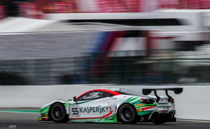 24h de Spa – le Kaspersky Motorsport en pole position, Emil Frey Racing dans le top 10