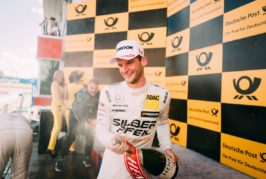 Maro Engel claims maiden DTM victory