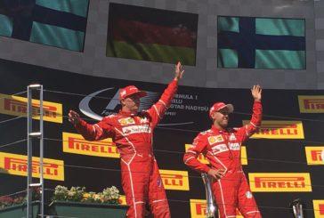 F1 – GP de Hongrie: Doublé Ferrari, Vettel gagne devant Räikkönen. Sauber et Romain Grosjean hors du coup.