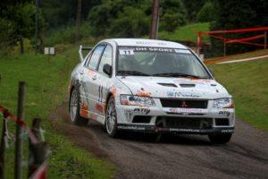 Rallye du 14 juillet 2017 - Jean-Pierre Zbinden Stephane Fehlrath - Mitsubishi Evo 9 - photo Nicolas Millet