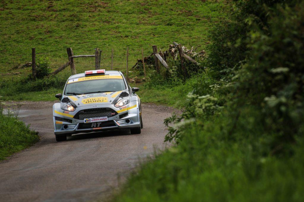 Rallye du 14 juillet 2017 - Olivier Burri Stephane Rey - Ford Fiesta R5 - photo Nicolas Millet