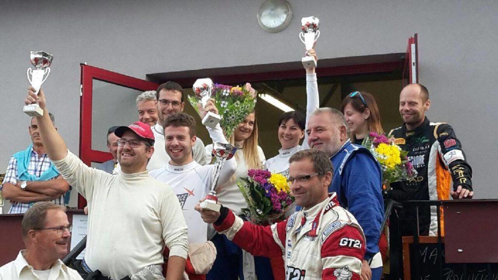 Rallye du 14 juillet - les Suisses a l arrivee