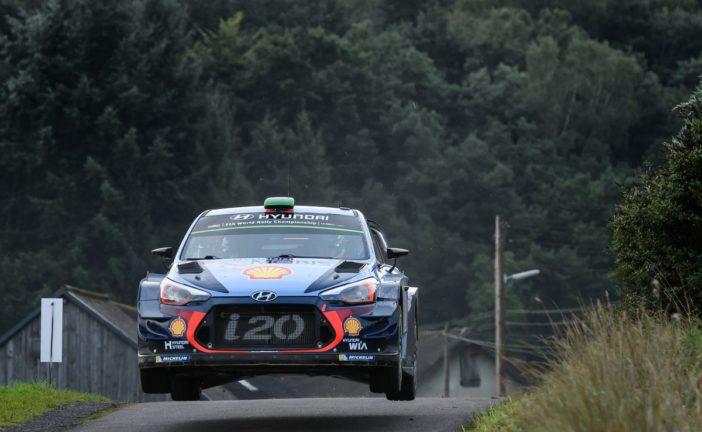WRC – Anspruchsvolle Rallye Deutschland für Hyundai