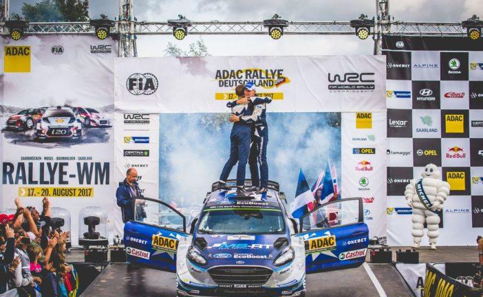 WRC – Ott Tänak s'impose en Allemagne, Sébastien Ogier reprend l'avantage au championnat