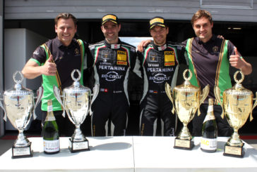 Three Top Ten Finishes for GRT Grasser Racing at ADAC GT Masters at Nürburgring