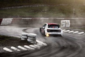 WRX – Nico Müller à Lohéac sur une Audi S1 du Team EKS