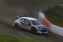 Vier Audi S1 EKS RX quattro in Rallycross-WM