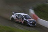 Four Audi S1 EKS RX quattro in FIA World Rallycross Championship