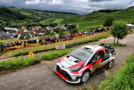 WRC – Tricky asphalt tests Toyota Gazoo Racing trio