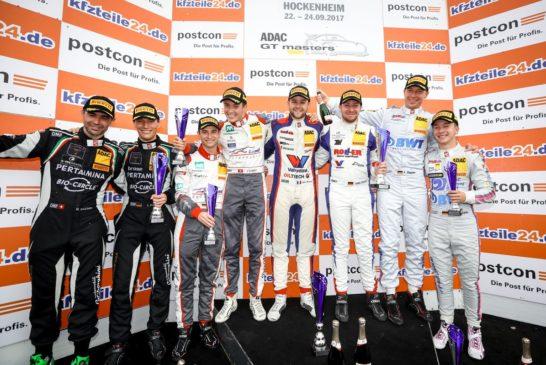 ADAC GT Masters – Lamborghini duo Ineichen and Engelhart claim final victory of the season