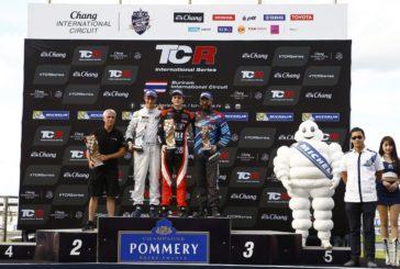 TCR – Stefano Comini sur le podium en Thaïlande
