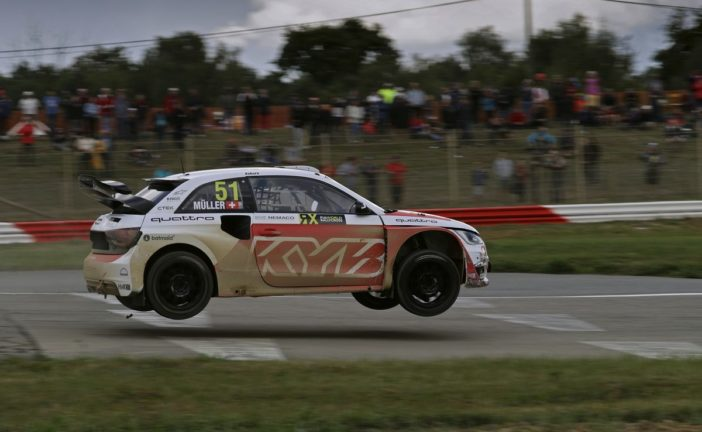 WRX – Débuts convaincants pour Nico Müller en rallycross