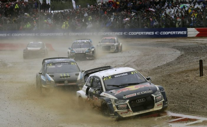 WRX – Audi driver Ekström on podium after pouring rain, Nico Müller celebrated an impressive debut