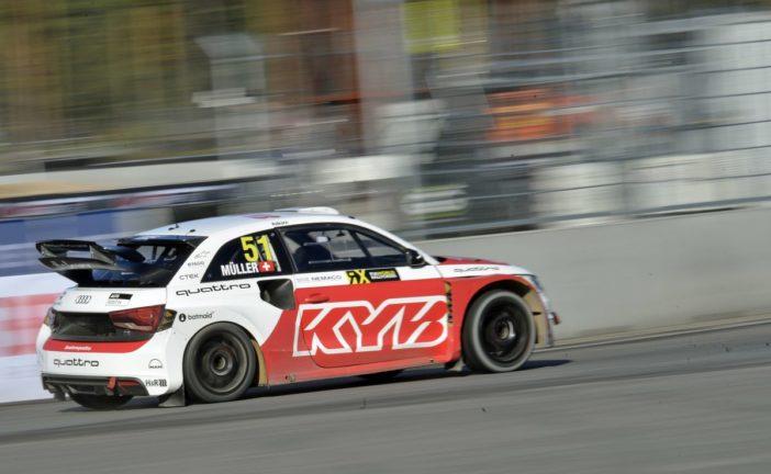 WRX – Nico Müller en finale en Lettonie