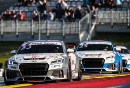 First rookie victory in the Audi Sport TT Cup and momentum shift in title fight