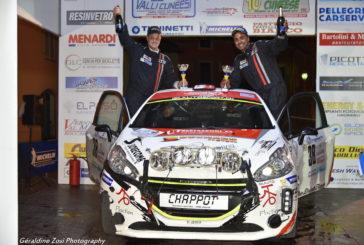 Rally Valli Cuneesi : le titre Junior pour Nicolas et Gaëtan Lathion !