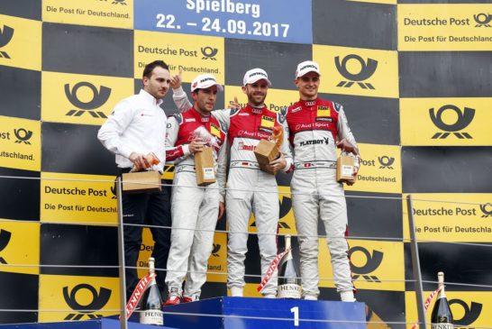 DTM – René Rast wins turbulent race on Sunday