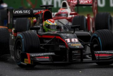 Formule 2 – Louis Delétraz au pied du podium