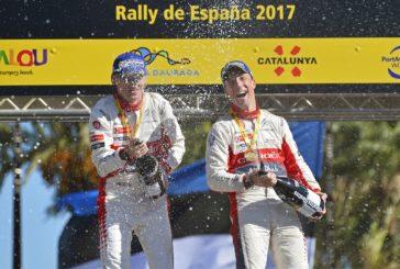 WRC – Kris Meeke remporte le rallye de Catalogne, Sébastien Ogier fait un pas vers le titre