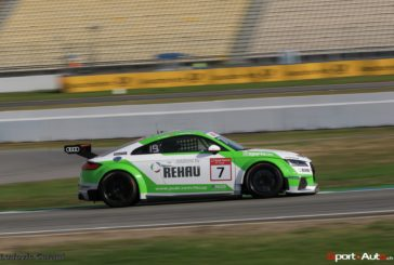 Marcel Fässler third on the Audi TT Cup Race of Legend, the fastest Lap for Rahel Frey