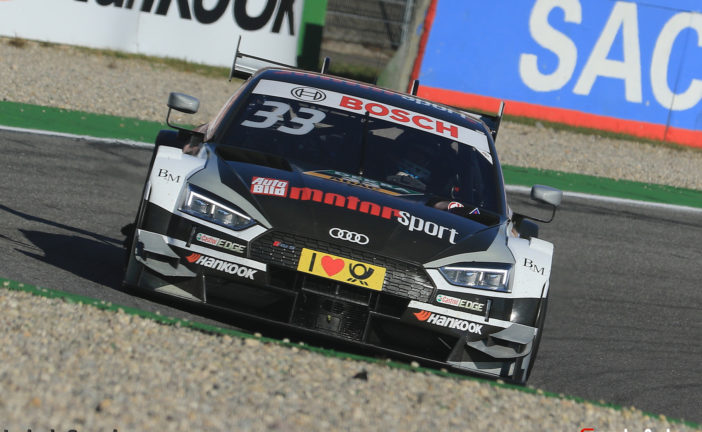 Rookie Rast storms to DTM title