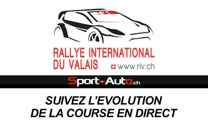 LIVE – Rallye International du Valais 2017 – Suivez l'évolution de la course en direct