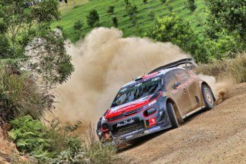 WRC – Craig Breen just outside Podium places