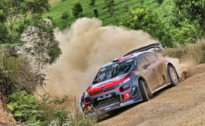 WRC – Craig Breen just outside Podium places