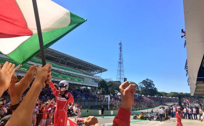 F1 – GP du Brésil : Vettel remporte la course pour l'honneur. Romain Grosjean et les Sauber terminent loin des points.
