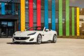 Ferrari présente sa Portofino à l'EPFL