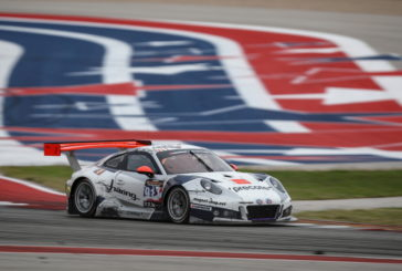 Daniela Allemann and the Herberth Motorsport leads first ever 24H COTA USA at halfway point